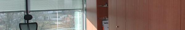 Schrankwand in Echtholzfurnier
